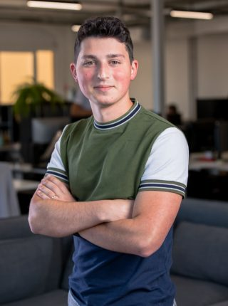 Matteo Orsini chef de projet e-marketing