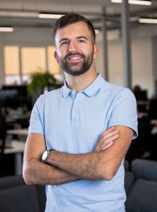 Raphaël Kauffholz chargé de clientèle
