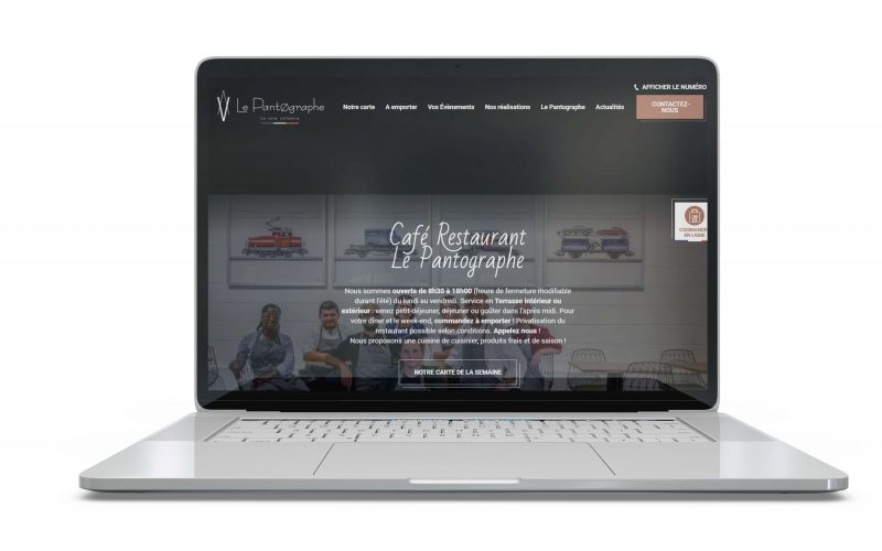 Le pantographe site web