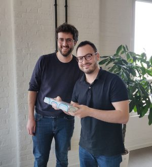 Morgan et François cadeau de noël 2019