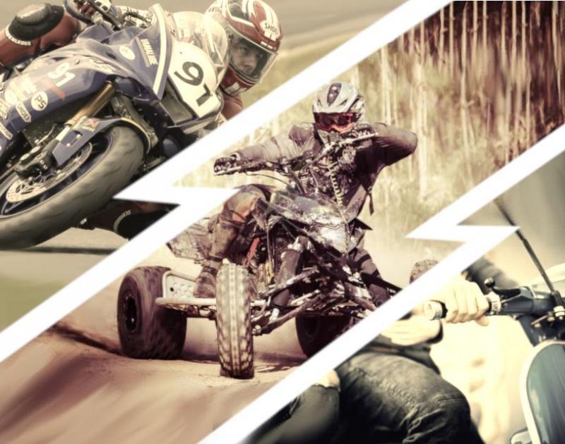 Street moto piece