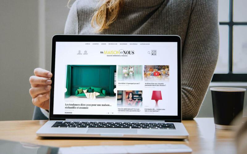 Site web Ma maison et nous