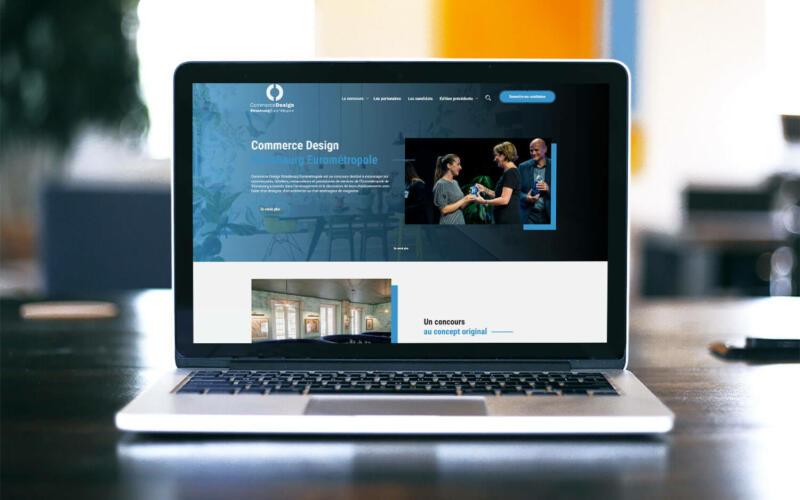 Site web Commerce Design Lausanne Eurométropole