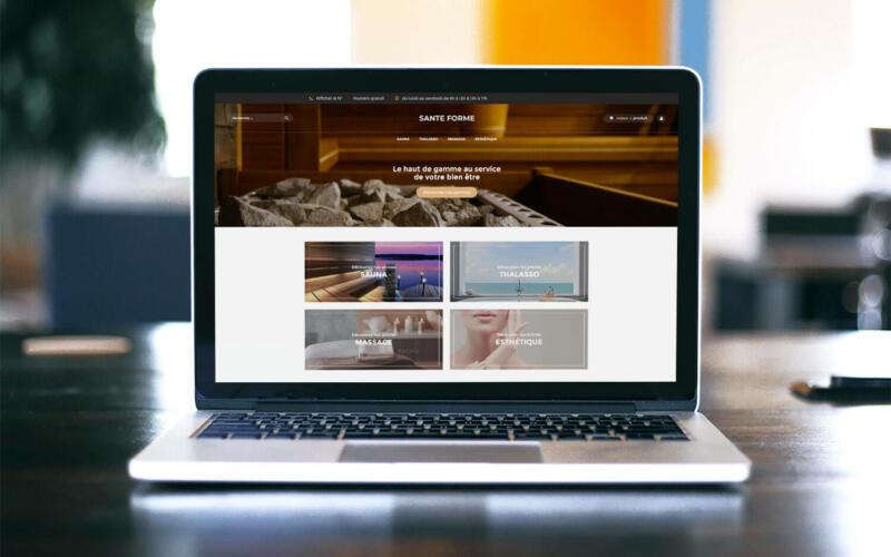Site web Santé forme
