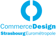 Logo Commerce Design Lausanne Eurométropole