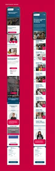 CIEL de Lausanne site responsive