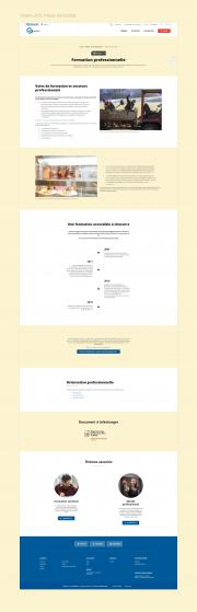 Insieme site page interne